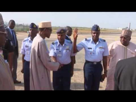 Buhari Leaves For Morocco