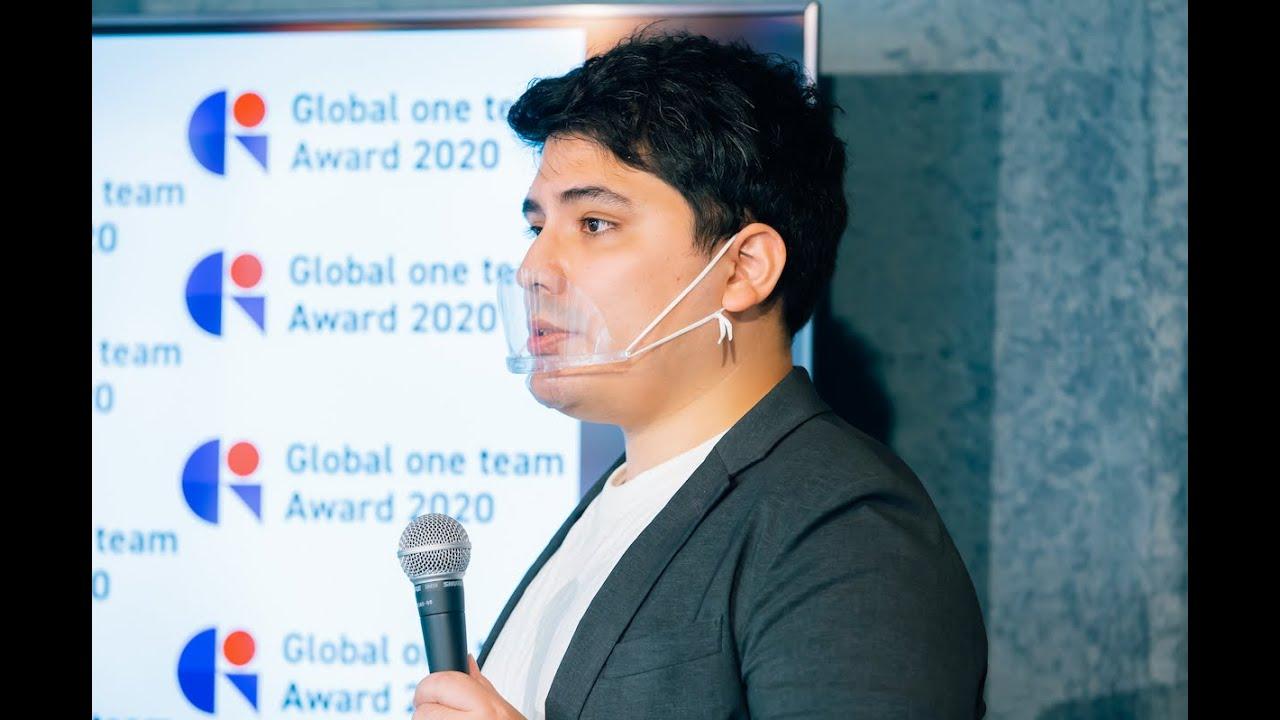 【企画・運営|イベント】Global one team Award 2020