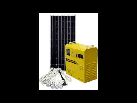 2017 Popular and Hot sale Solar Generator for home use saving energy and low cost