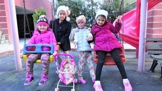 Melis Bebekle Parkta Çok Eğlendik-Eğlenceli Çocuk Videosu