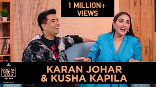 &#39Social Media Star with Janice&#39 E03 Karan Johar and Kusha Kapila