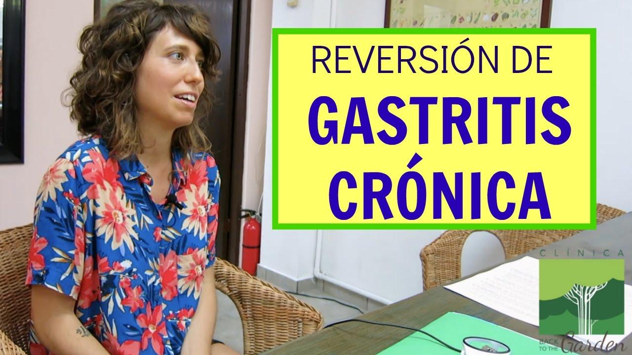 Caso Exitoso de Reversión de Gastritis Crónica