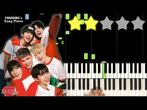 NCT DREAM X HRVY - Don't Need Your Love 《MINIBINI EASY PIANO ♪》 ★★☆☆☆ [Sheet]
