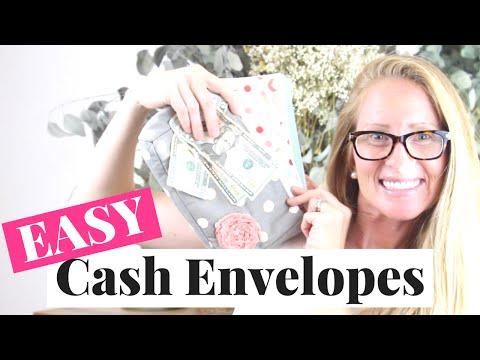 How To Start A Cash Envelope System   Easy Cash Envelope System