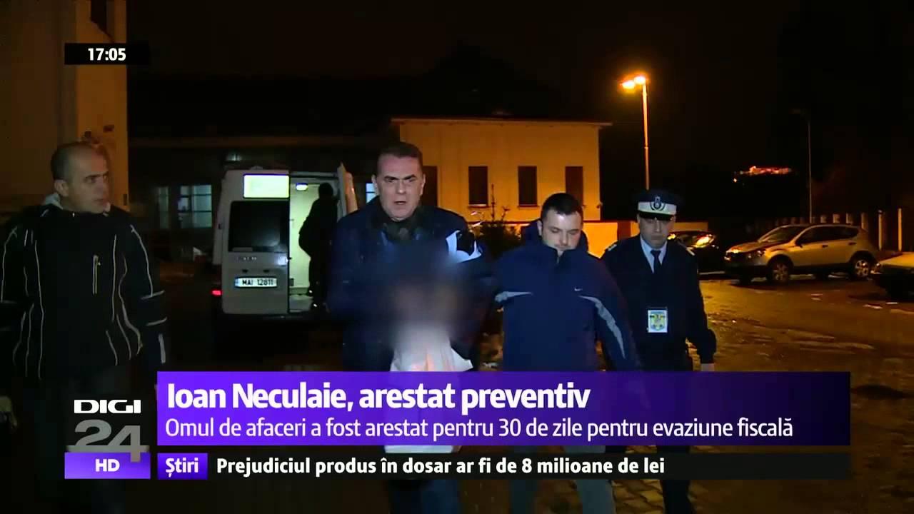 """INTERCEPTĂRI. Ioan Neculaie, arestat preventiv, către un martor: """"Să nu fi spus vreo prostie"""