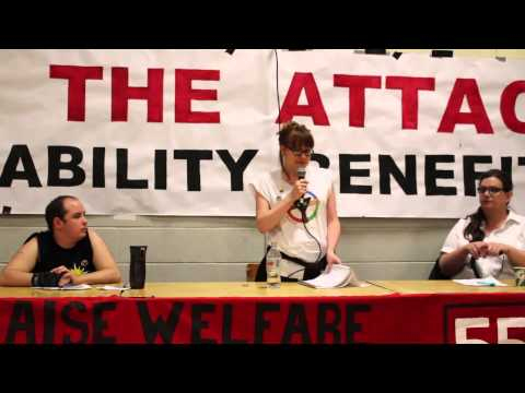 Disabled People Against the Cuts Speaking Tour - Toronto Stop (May 14, 2014)