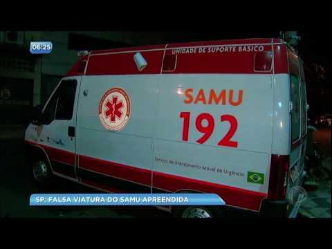 SÃO PAULO: Ambulâncias clonadas do SAMU que viriam para Ilhéus são apreendidas 3