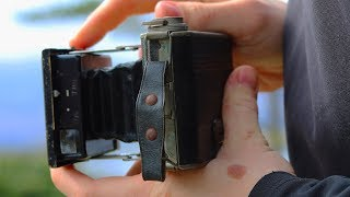 Taking Photos with a 90 Year-Old Camera
