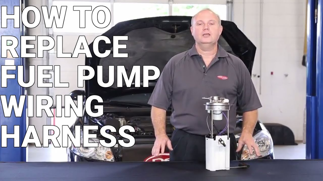 How To Replace A Fuel Pump Wire Harness
