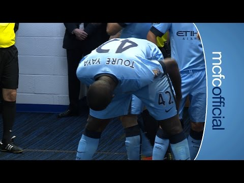 City 2-0 West Ham | TUNNEL CAM | Barclays Premier League 14/15