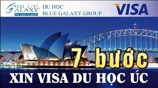 7 Bước Xin Visa Du Học Úc
