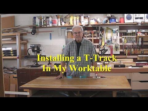 T Track Installation