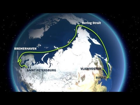 First container ship to navigate the Arctic