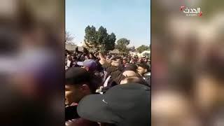 تظاهرة في بجاية في الجزائر ضد ترشح بوتفليقة