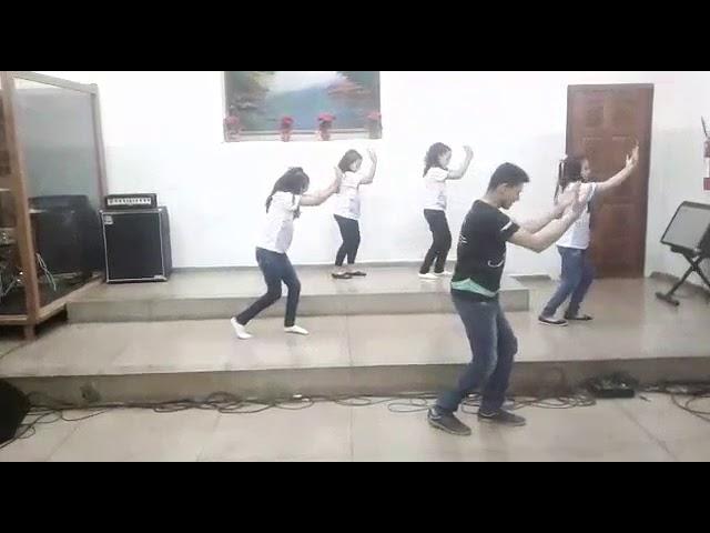 Coreografia Movidos pela Graça