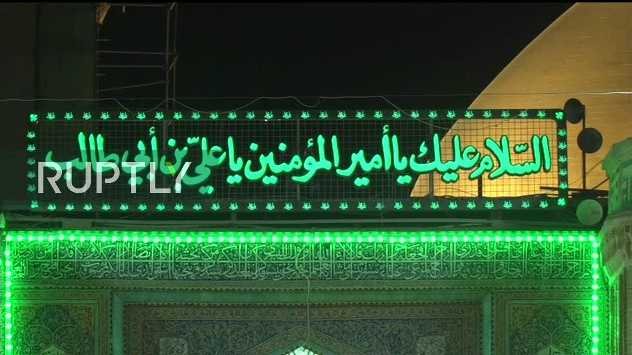 LIVE: Bodies of Soleimani and Mahdi al-Muhandis arrive in Najaf