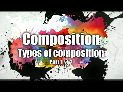 How to compose artwork - Types of compositions - Part 1 - patreon.com/EpicArtAcademy