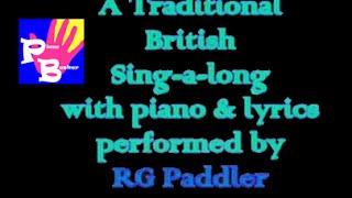 piano busker - A Popular British Community Singalong! (lyrics,songsheet,mp3)