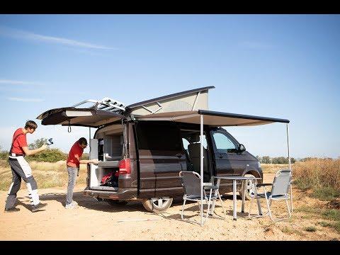 VW T5 CALIFORNIA ÜSTÜ ACILAN KARAVAN