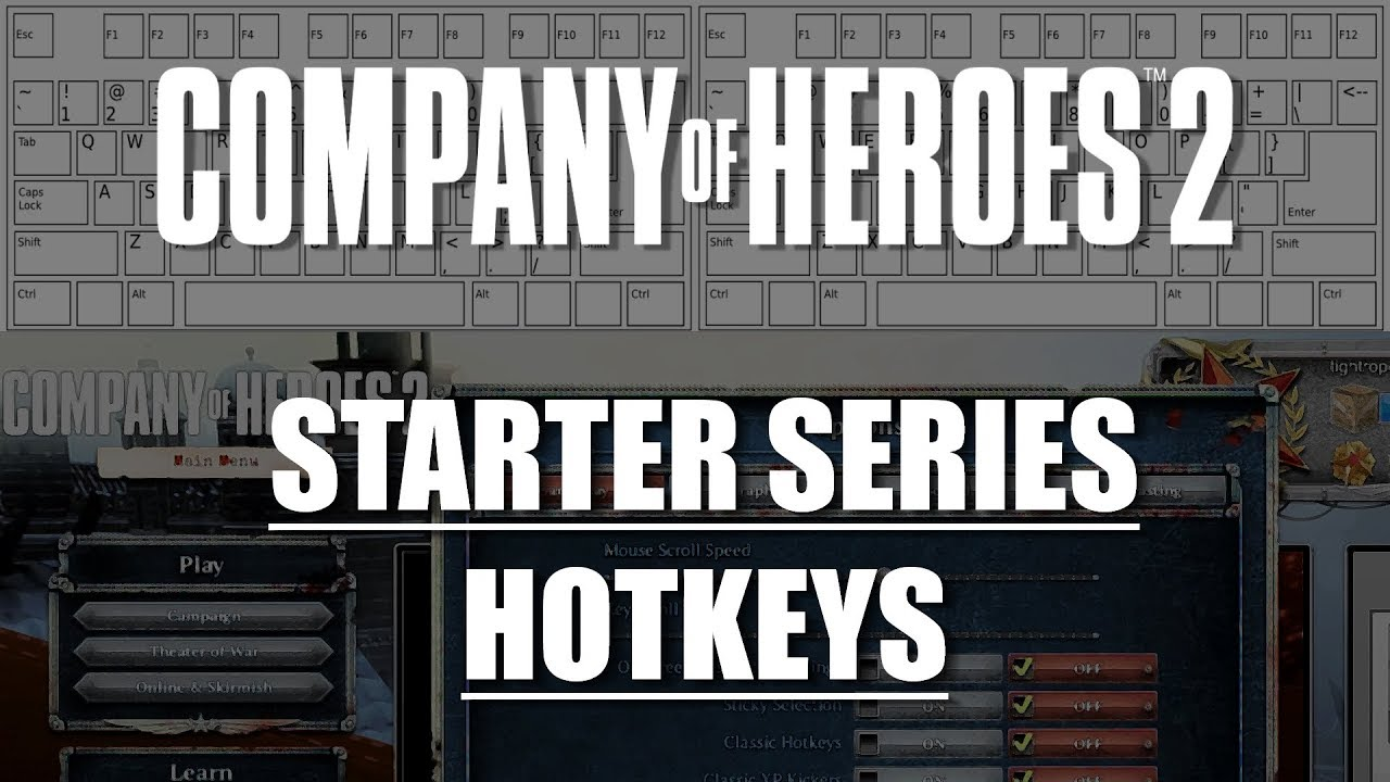 Coh2 Starter Series Hotkeys Youtube