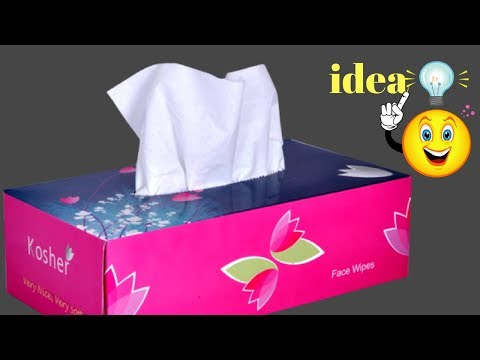 Best craft idea | DIY arts and crafts | Cool idea with tissue paper