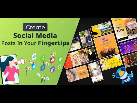 Social Media Post & Graphic Maker For Business