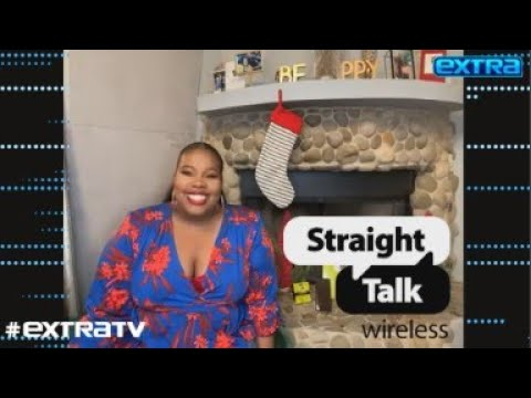 Straight Talk Wireless and Amber Riley Celebrate Holiday Deals with 'O Shopping Spree' Carol