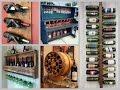 DIY Wine Rack Ideas - Creative Wine Shelf DIY Home Decor