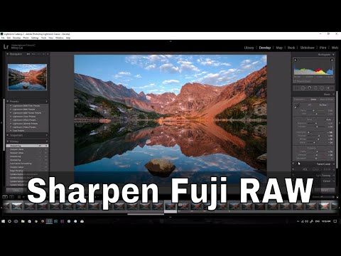 Sharpening Fuji RAF Files with Lightroom | Hours of Idleness