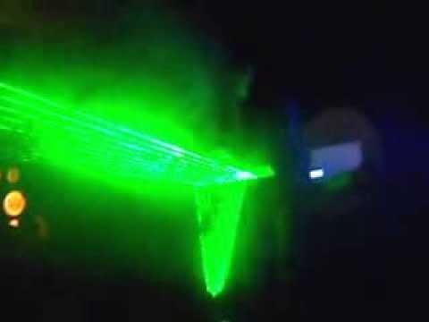 Laser Harp - Around The World (Remix) -  Pablo Larrosa Bateria y Diego Insua Arpa Laser