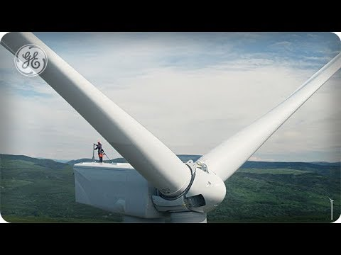 British Columbia: The Wind Network  - DRONEWEEK - GE
