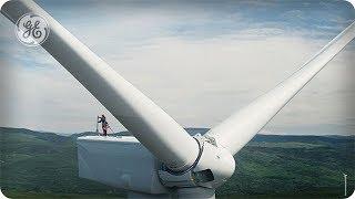 British Columbia: The Wind Network  - DRONEWEEK - GE