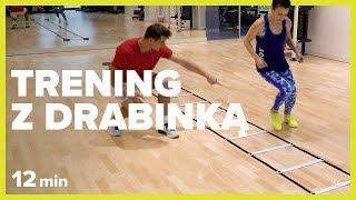 TRENING Z DRABINKĄ - 12 min | Szymon Gaś & Katarzyna Kępka