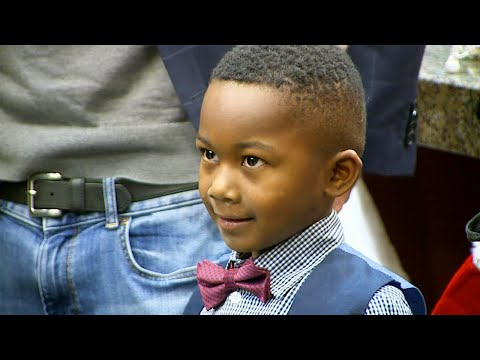Java Joel - #GoodNews: Boy's Entire Kindergarten Class Comes To His Adoption Hearing