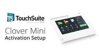 Watch this simple and informative guide on how to activate a clover mini, made by first data. learn more about the mini at https://www.touchsuite.com/...
