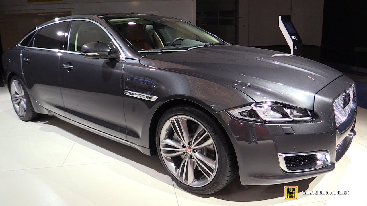 2016 jaguar xj l 3 0 diesel exterior and interior for Jaguar xj exterior