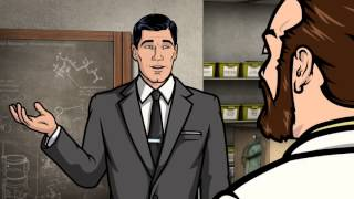 Archer - Krieger: My penis can only get so erect.