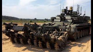 Военная приемка. «Проход». Робот-сапер в танковой броне