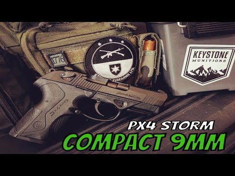 Beretta PX4 Storm 9mm Compact Review