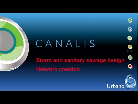Storm and sanitary sewage design – network creation