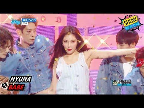 [Comeback Stage] HyunA – BABE, 현아 – 베베 Show Music core 20170902
