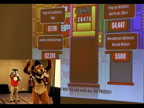 Fursuit The Price is Right - MFF 2016