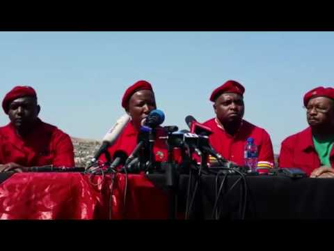 Malema lists conditions set out for ANC coalition
