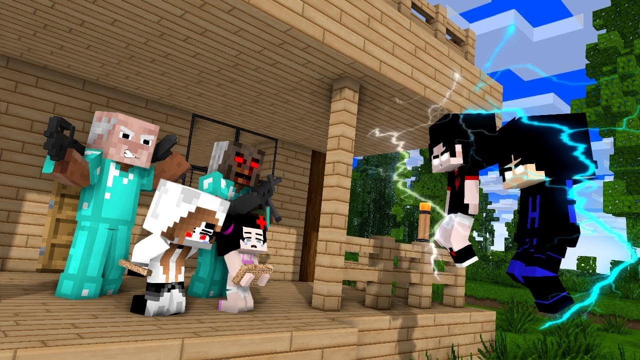Haiko and Zentity have been kidnapped - Minecraft Monster School Animation