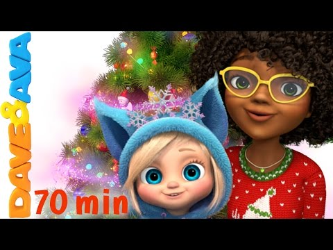 Thumbnail: We Wish You a Merry Christmas | Christmas Songs for Kids | Christmas Songs Collection | Dave and Ava