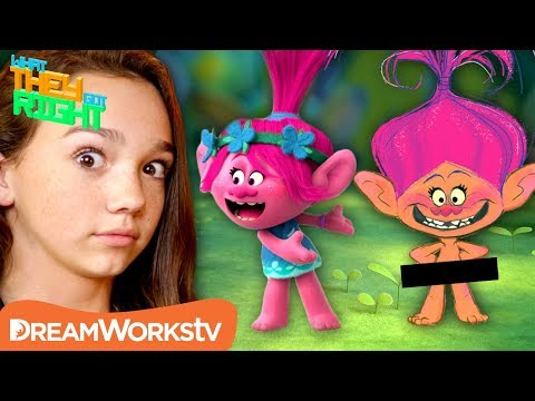 Poppy Was Supposed to be NAKED in TROLLS!?!   WHAT THEY GOT RIGHT