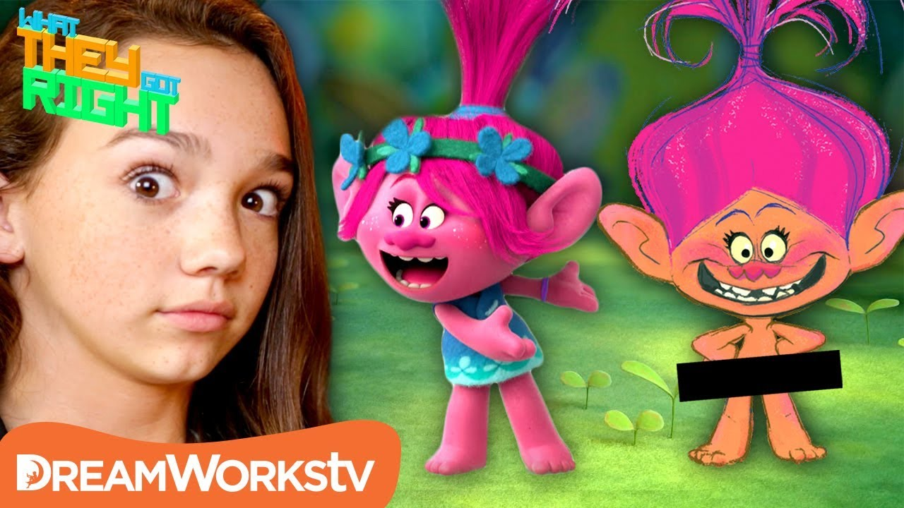 poppy was supposed to be naked in trolls what they got right