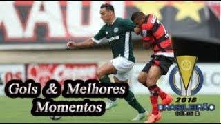 Goiás x Atlético-GO - Gols & Melhores Momentos Brasileirão Serie B 2018 27ª Rodada