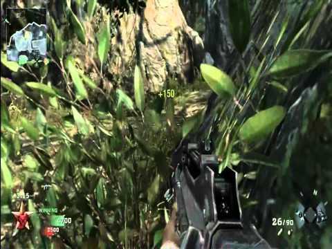 Black Ops Team Deathmatch Jungle Multiplayer gameplay 1 HD (Xo ELVIS oX)