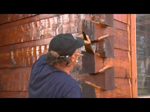 TWP® Exterior Wood Preservative - Staining your Log Home with TWP®